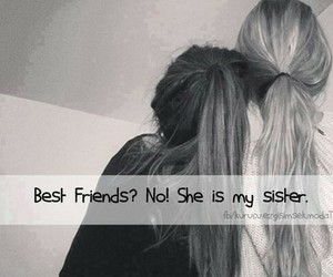 best friends, sisters, and bff image