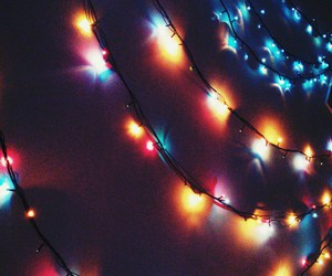 christmas, lights, and lovely image