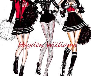 fashion, girl, and madonna image