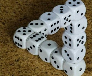 dice and illusion image