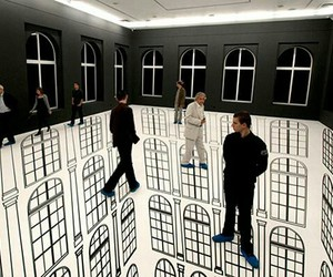 art, cool, and illusion image