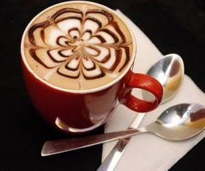 coffee, drink, and coffe image