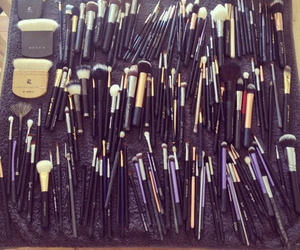 Brushes, chanel, and mac image