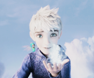 cartoon, dreamworks, and jack frost image