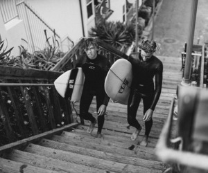 surf, boys, and surfer image
