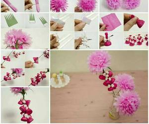 diy, flowers, and do it yourself image