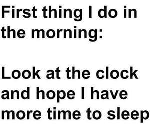 morning, sleep, and true image