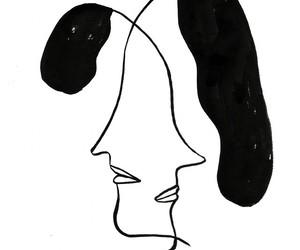 art, beautiful, and women image