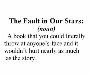 tfios, book, and the fault in our stars image