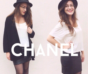 and, black, and chanel image