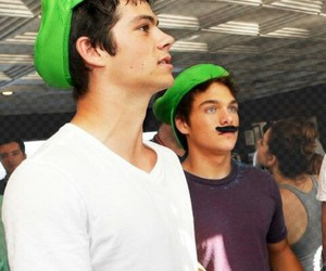 dylan o'brien, dylan sprayberry, and teen wolf image