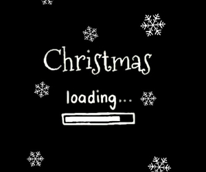 christmas, loading, and snow image