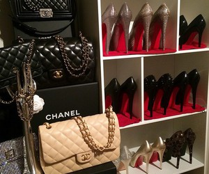 chanel, shoes, and bag image