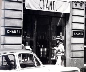 chanel, coco chanel, and vintage image