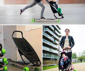 baby, skate, and cool image