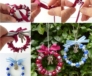 crafts, wreath, and christmas idea image