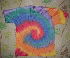 t-shirt and tie dye image