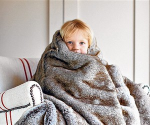 child and cosy image