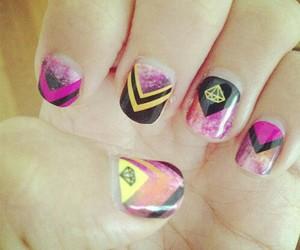 diamond, nail art, and nails image