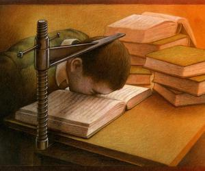book, art, and school image
