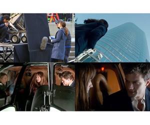 Jamie Dornan, dakota johnson, and fifty shades of grey image