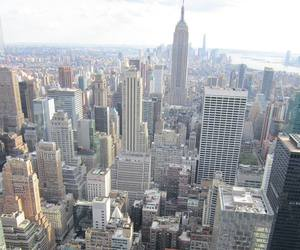 buildings, city, and empire state image
