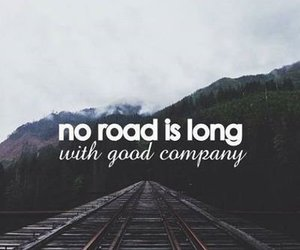 road, quote, and company image