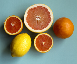 blue, citrus, and inspiration image