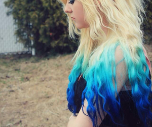 blue hair, scene queen, and beautiful image