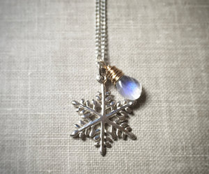christmas, snowflake, and etsy image