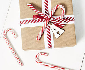 candy cane, christmas, and gift image