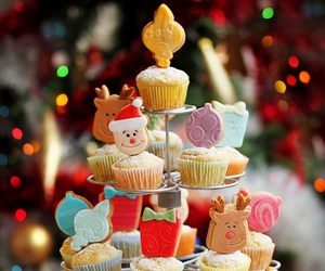 christmas and cupcake image