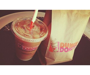 donuts and dunkin donuts image