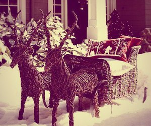 christmas, outdoor, and santa image