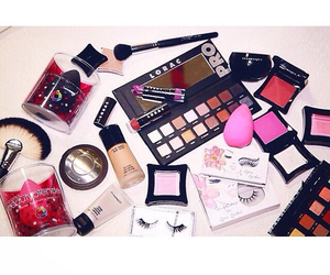 Illamasqua, make up, and makeup image