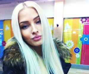 alena shishkova, blonde, and model image
