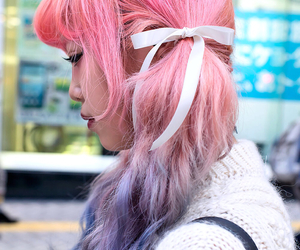 accessories, dyed hair, and fashion image