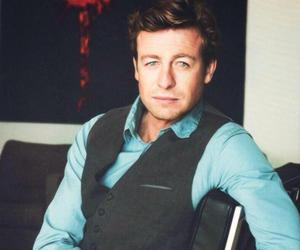 the mentalist, patrick jane, and simon baker image