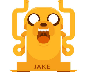 JAKe, adventure time, and hora de aventura image