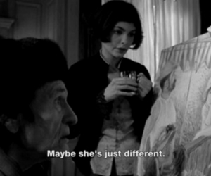 amelie, different, and quote image