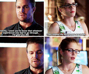 arrow, otp, and serie image