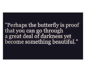 butterfly, beautiful, and quotes image