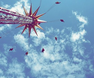 chairoplane, enjoy, and fairground image