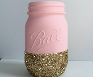 diy, glitter, and pink image