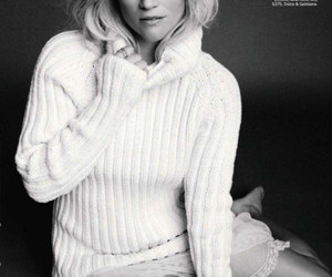 black and white, marie claire, and sweater image