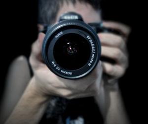 camera, boy, and photography image