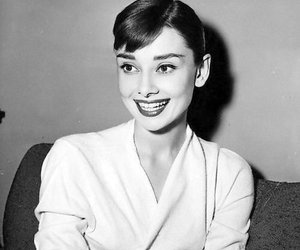 audrey hepburn, beautiful, and smile image