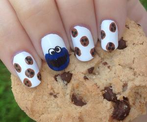 nails, cookie, and nail art image