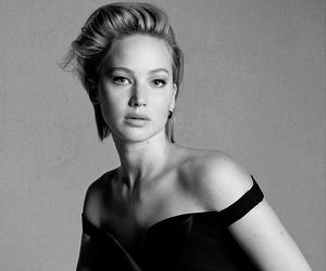 Jennifer Lawrence, dior, and katniss everdeen image