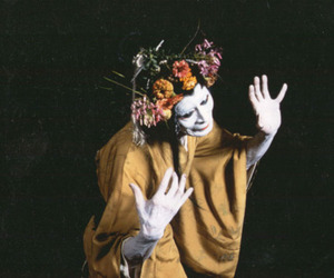 japanese, kabuki, and makeup image